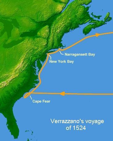 Verrazzano's Voyage