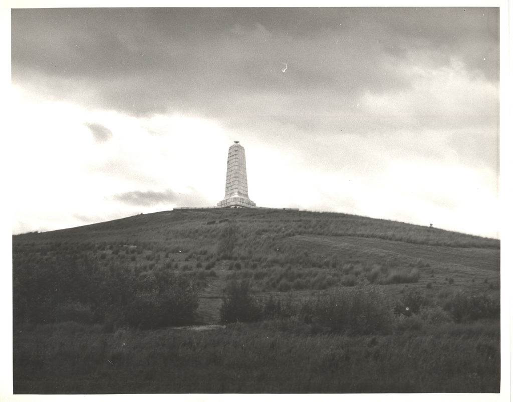 The Wright Brothers National Memorial, circa 1939.