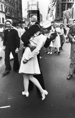 V-J Day in Times Square. Photo by Alfred Eisenstaedt/Pix Inc./Time & Life Pictures/Getty Images.