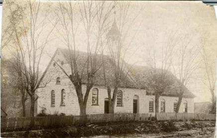 Bethabara Church. Photo from the N.C. Museum of History.