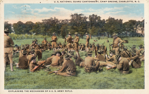 Camp Greene, Charlotte's Massive WWI Installation | NC DNCR