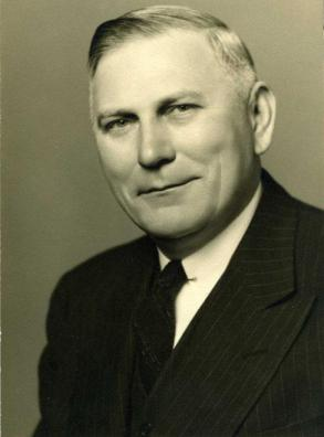 Gov. R. Gregg Cherry, who appointed Abernethy poet laureate. Image from the N.C. Museum of History.