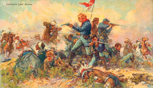 Image result for custer's last stand