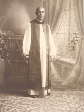 A portrait of Delaney in 1918. Image from the Archives of the Episcopal Church.