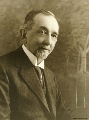 Benjamin Newton Duke. Image courtesy of Duke University