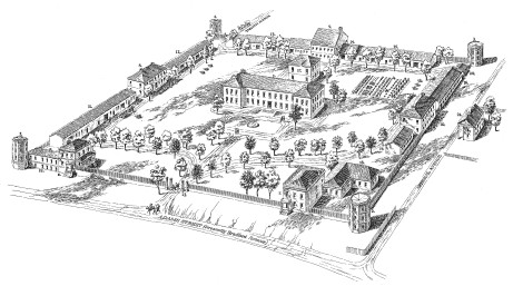 A sketch of the Fayetteville Arsenal