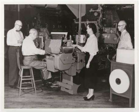 Working a Reynolds Tobacco Plant. Image from the North Carolina Collection at UNC-Chapel Hill.