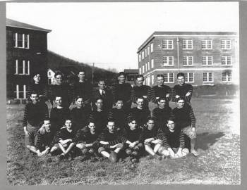 ASU's football team, probably from the 1910s or 1920s.