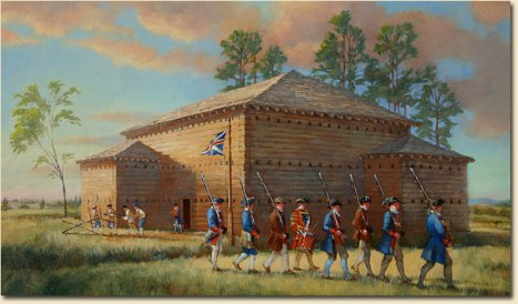Fort Dobbs Painting