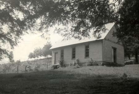 Haywood County's Inman Chapel. Image from Harvard Divinity School.