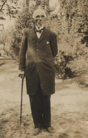 Jones in 1915. Image from the N.C. Museum of History.