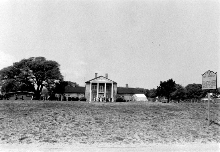 Southport's Fort Johnston, which is named for Gov. Gabriel Johnston. Image from the State Historic Preservation Office.