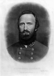 """Stonewall"" Jackson. Image from  the Library of Congress."