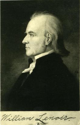 William Lenoir, Frontier Patriot
