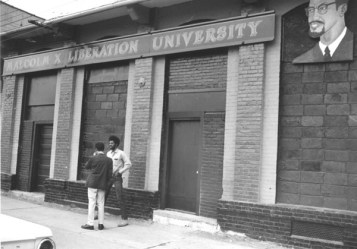 An image of Malcom X Liberation University in Durham, courtesy of Open Durham