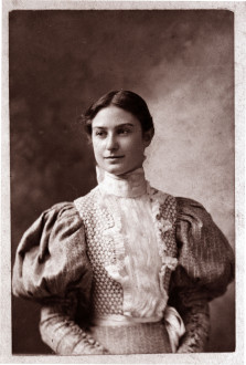 Gertrude Weil. Image from  the State Archives.