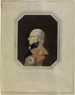 Maj. James Craig, who commanded the British troops occupying Wilmington. Image courtesy of the Library and Archives of Canada.