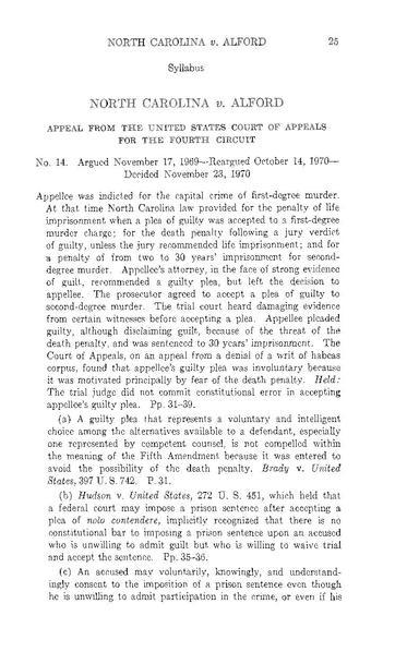 The first page of the Aflord decision from the U.S. Fourth Circuit Court of Appeals.