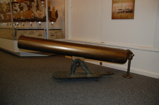 An artifact from the Peterhoff now on display at the N.C. Maritime Museum at Southport