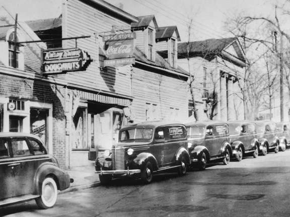 Krispy Kreme's first location in Winston-Salem