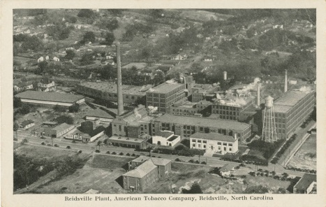The Reidsville American Tobacco Company campus. Image from Rockingham Community College.
