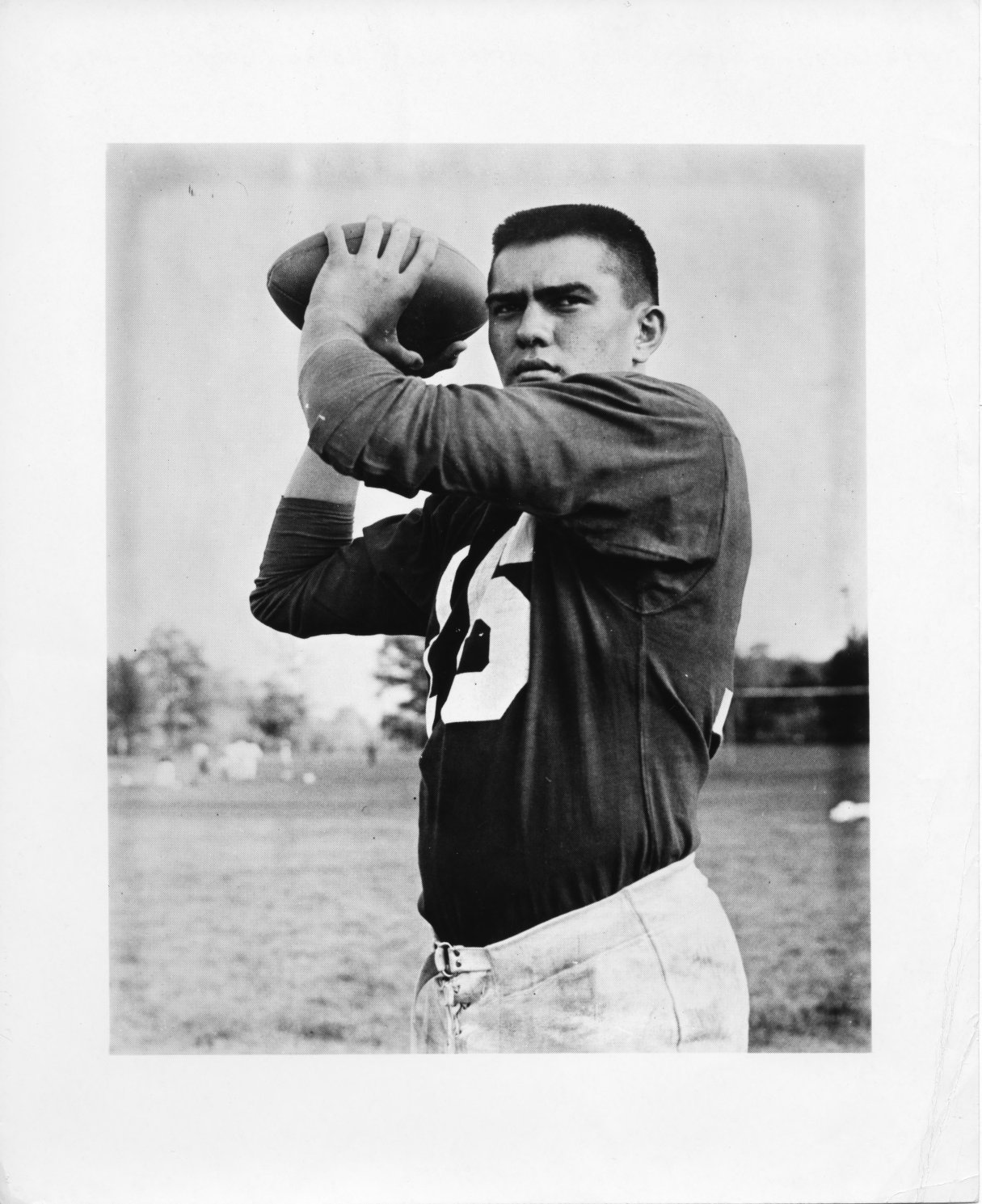 Two-time all-American quarterback Roman Gabriel. Image courtesy of NCSU Libraries.