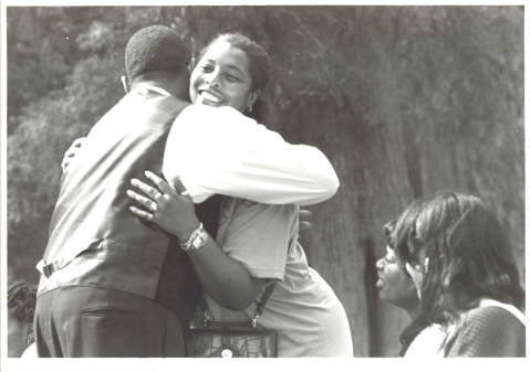 """A reunion at the 1986 """"Somerset Homecoming."""" Image from Somerset Place."""