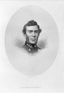 An image of Braxton Bragg from the State Archives