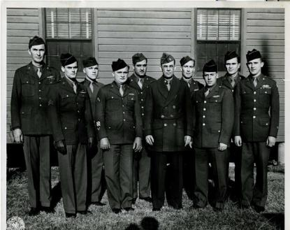Soldiers at Camp Butner in 1947. Image from the  N.C. Museum of History