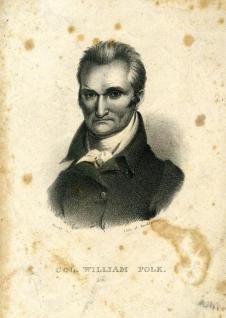 Colonel William Polk. Image from the N.C. Museum of History.