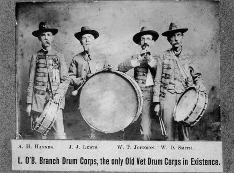 A 1909 ad for a band of Civil War veterans from the N.C. Museum of History