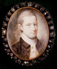 A portrait of John Stanly from Tryon Palace