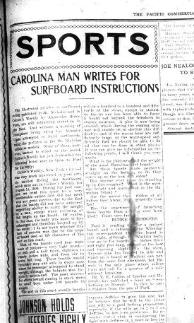 The letter as it appeared in the Pacific Commercial Advertiser.