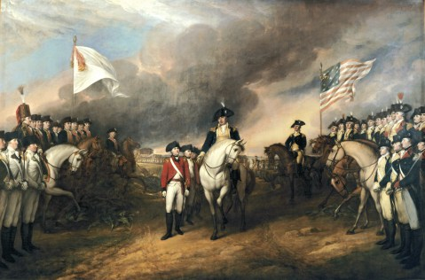 Paiting of The Road to Yorktown