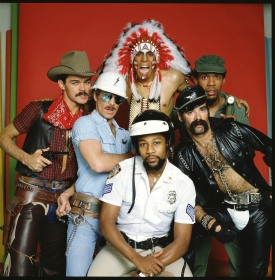 The original Village People. Randy Jones is on the far left. Image from Getty Images.