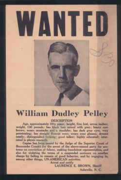 Asheville Fascist and Presidential Candidate William Dudley Pelley
