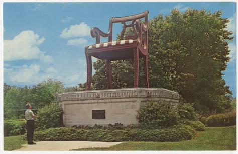 Big Chair in Thomasville, North Carolina