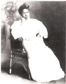 Charlotte Hawkins Brown on her wedding day