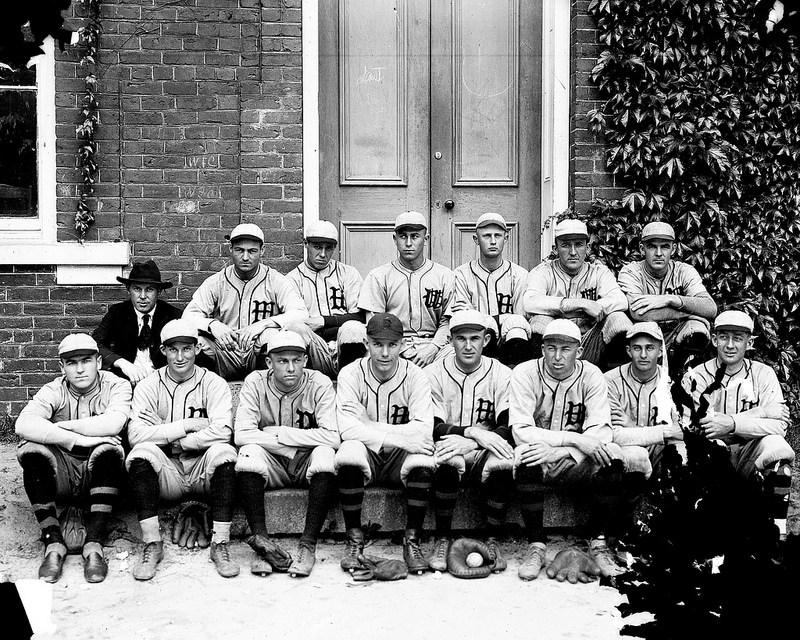 Wake Forest baseball team, circa 1910s