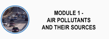 module 1 - air pollutants and their sources