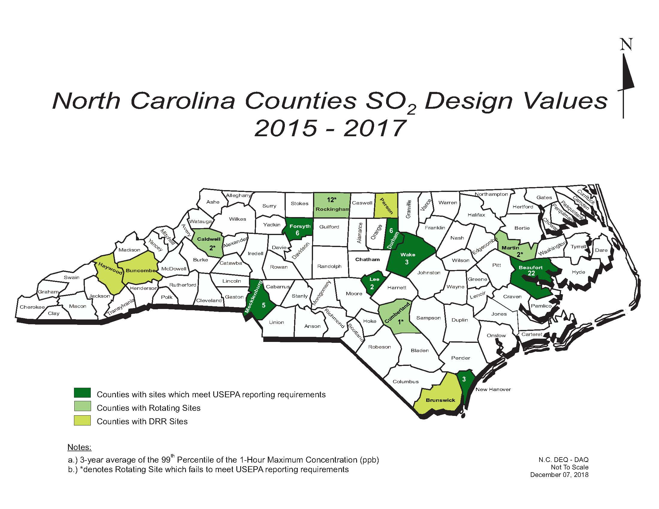 Please Click Here To Open The So2 Design Values Map As A Pdf