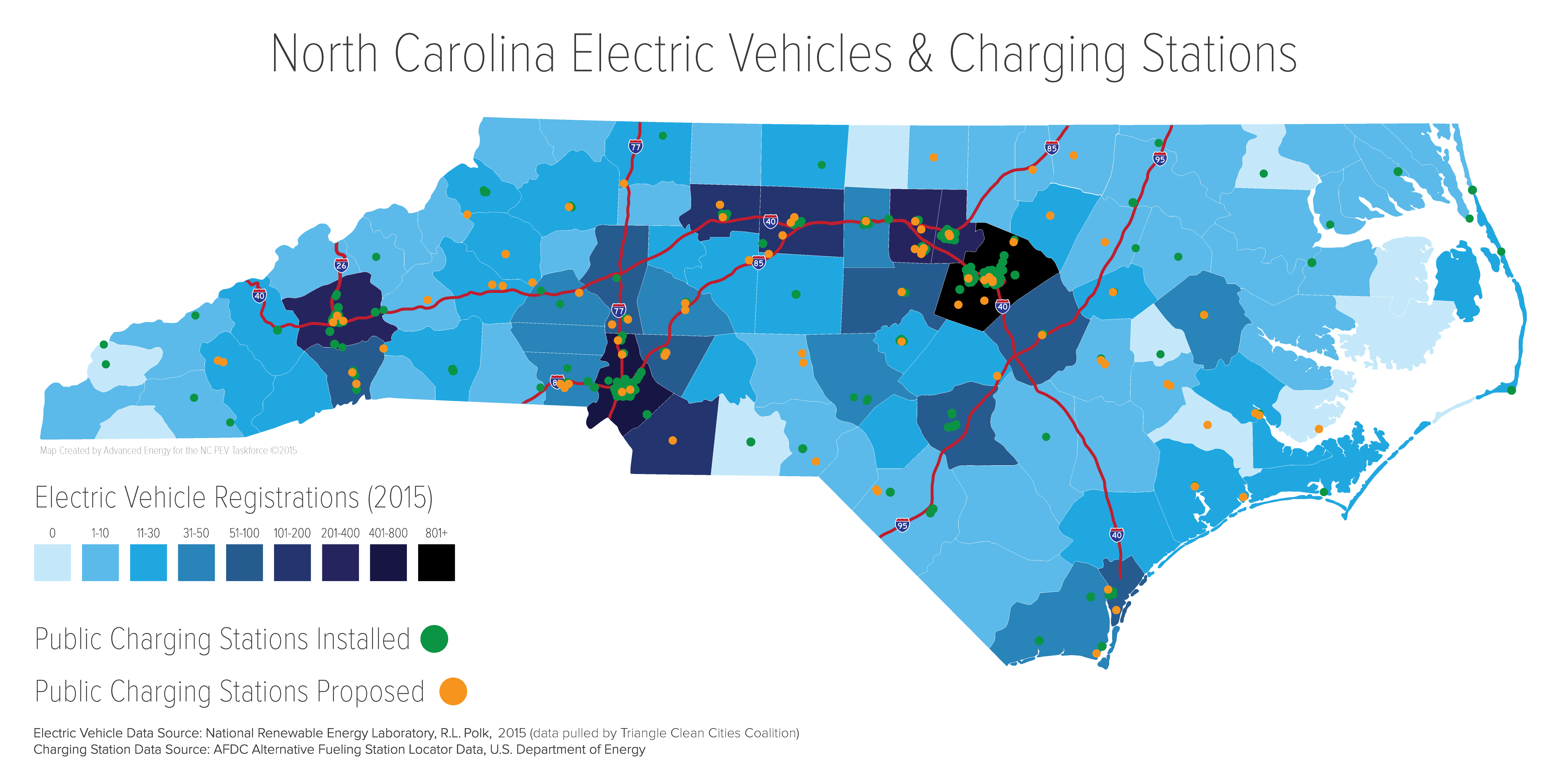 Nc Deq Zero Emission Vehicle Infrastructure