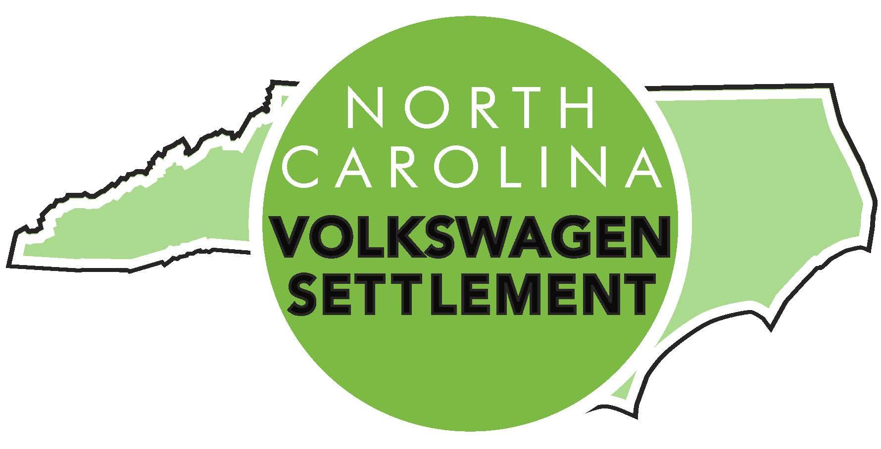 "Logo of ""North Carolina Volkswagen Settlement"""