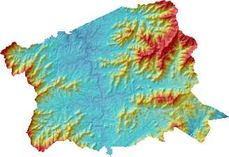 Buncombe County Digital Elevation Model