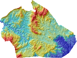 Watauga County Digital Elevation Model
