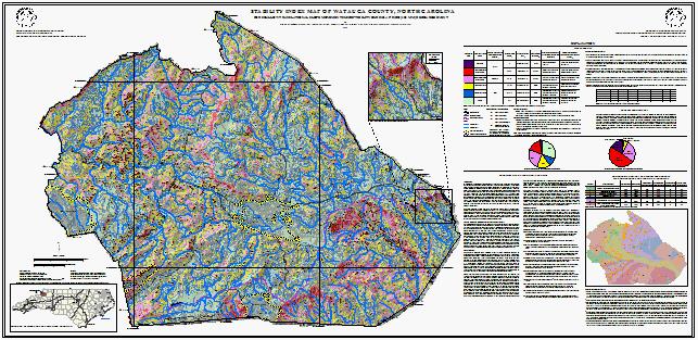 NC DEQ: Watauga County Hazards Maps