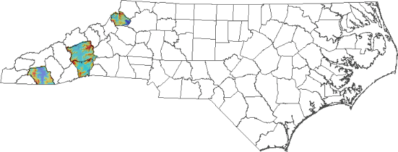 Select From The The County Name Listings Above Or Below The Map To View Available Landslide Hazard Information For That County