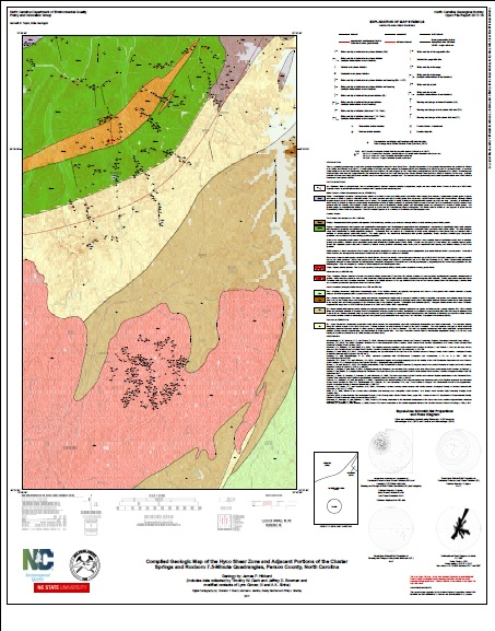 Nc Deq Open File Reports And Maps