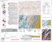 Geologic Map of theMONTREATQuadrangle