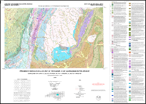 Preliminary Bedrock Geologic Map of the Raleigh 30' x 60' Quadrangle, North Carolina, by Clark, T.W., Blake, D. , Stoddard, S., Carpenter, P.A., III, and Carpenter, R.H., 2004